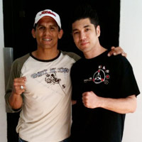Frank Shamrock Visits Anderson's Martial Arts