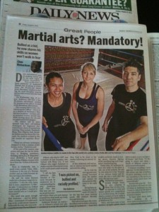 AMAA and Sifu Anderson in Daily News!