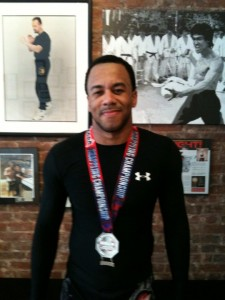 Marvin takes Silver Medal at NAGA