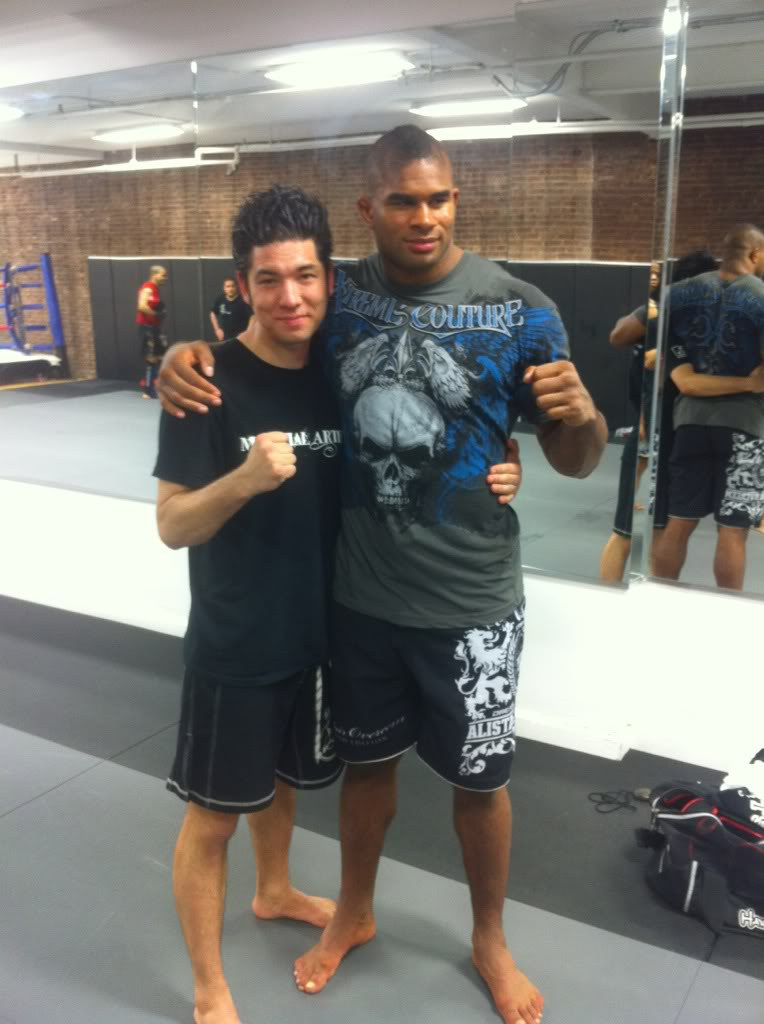Alistair Overeem at AMAA!