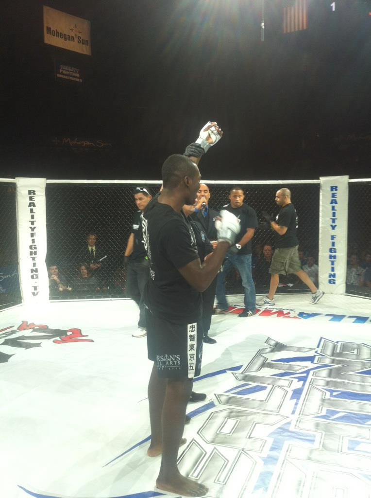 Congratulations to Dwight Grant on his Reality Fighting Win!