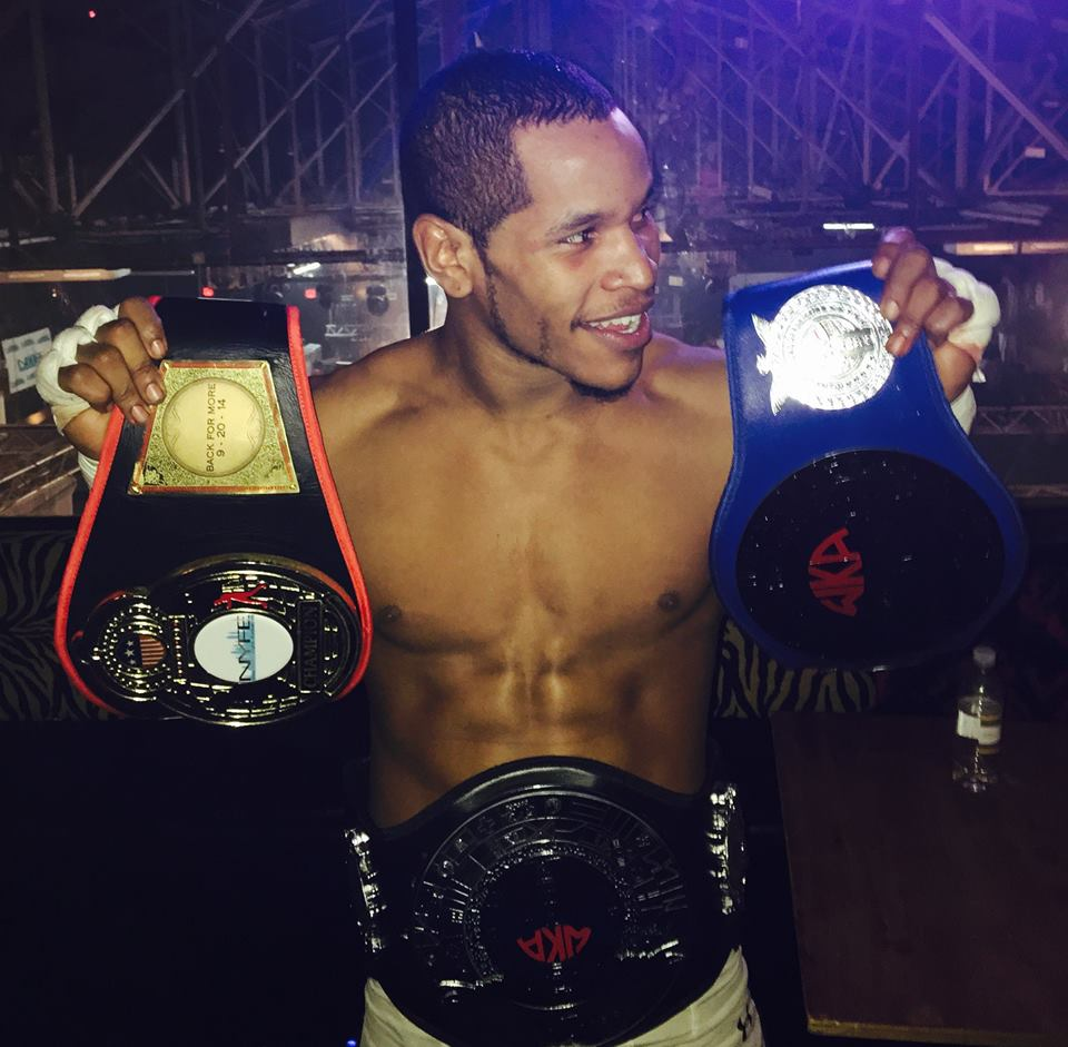 Najeeb wins his Mixed Martial Arts WKA Middleweight Belt - AMAA -New York City Champions