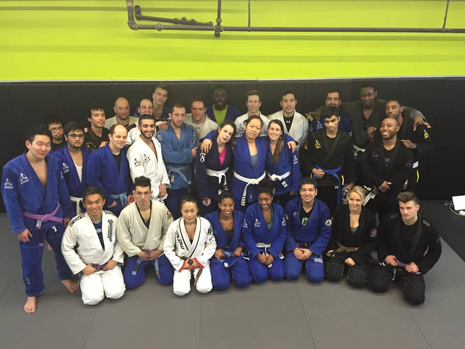Anderson's Martial Arts NYC Brazilian Jiujitsu Belt Promotions
