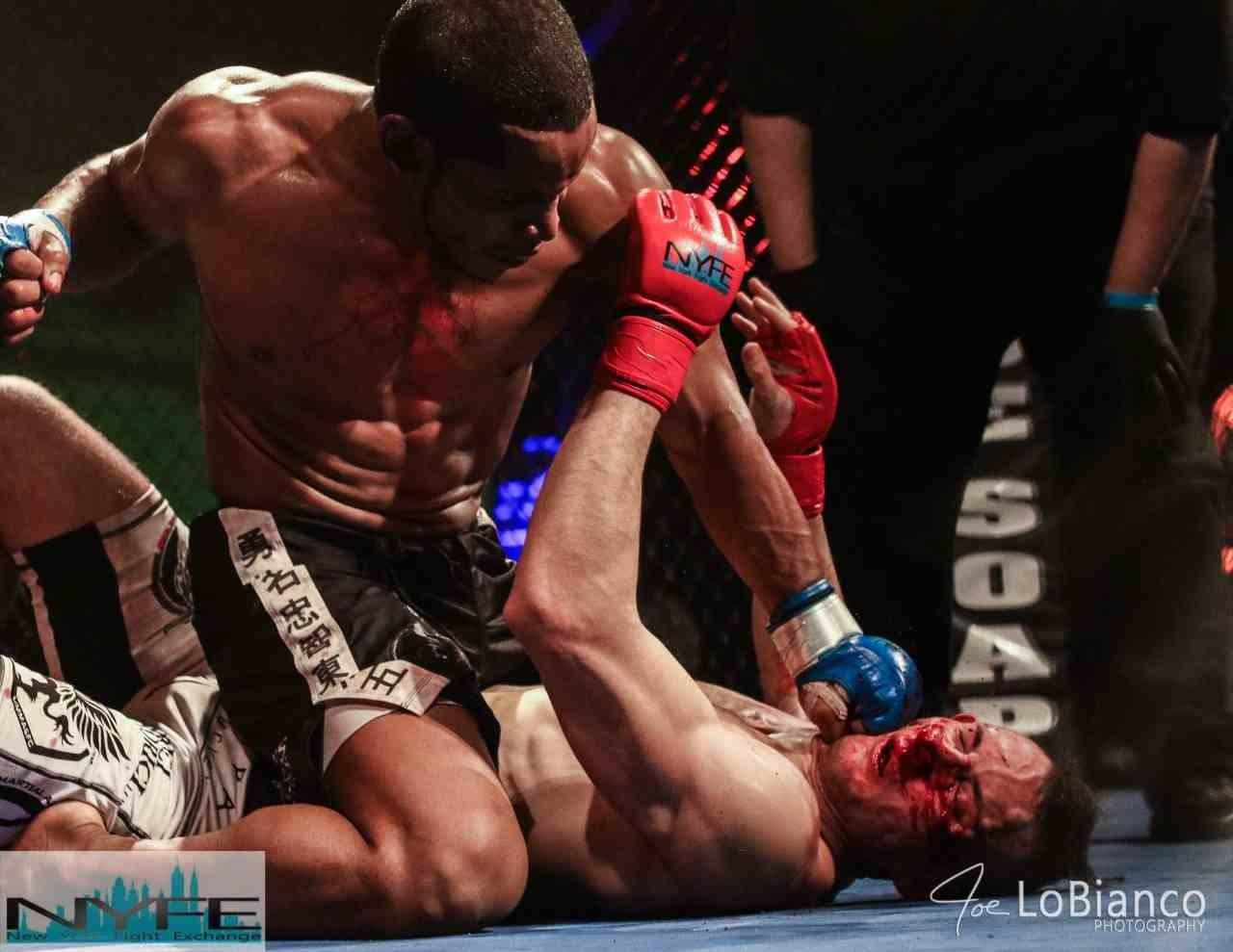 Najeeb Jones Brings Home the WKA MAA Belt- His THIRD Mixed Martial Arts Belt In NYC!