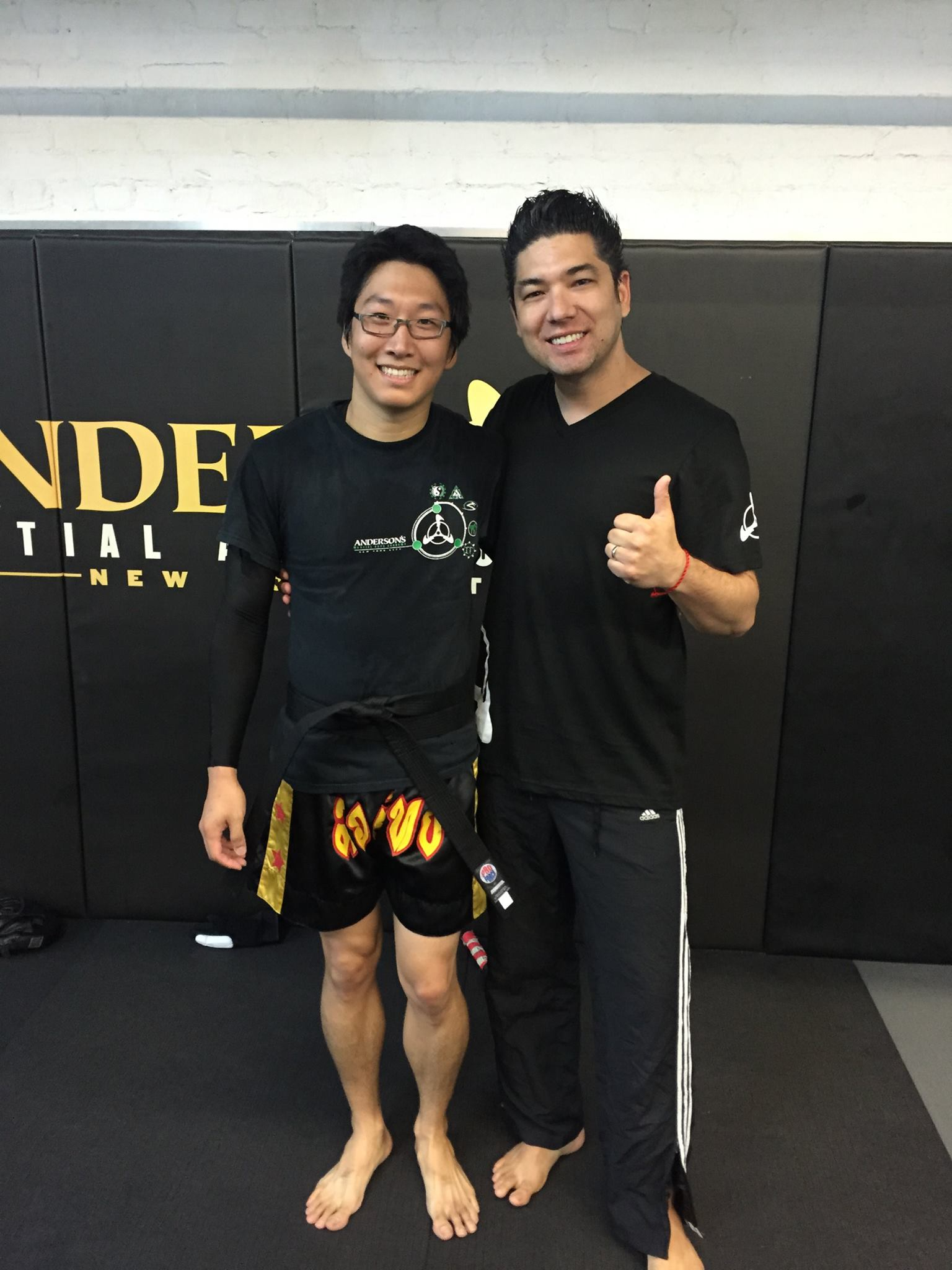 Anderson's Martial Arts Student Alex Paik Receives His Black Belt, at AMAA New York City