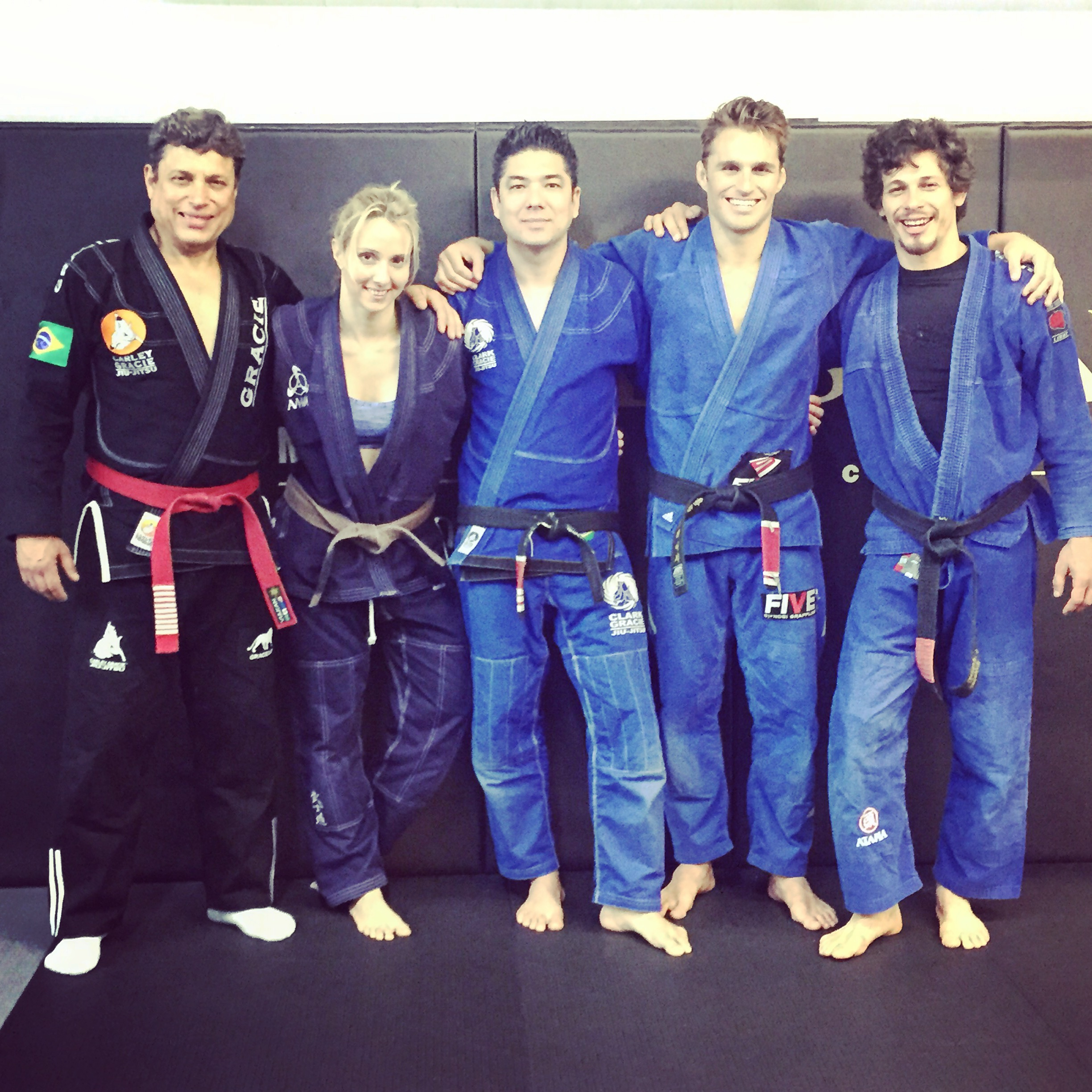 Brazilian Jiujitsu Red-belt Carley Gracie Spends 2 days At Anderson's Martial Arts New York City