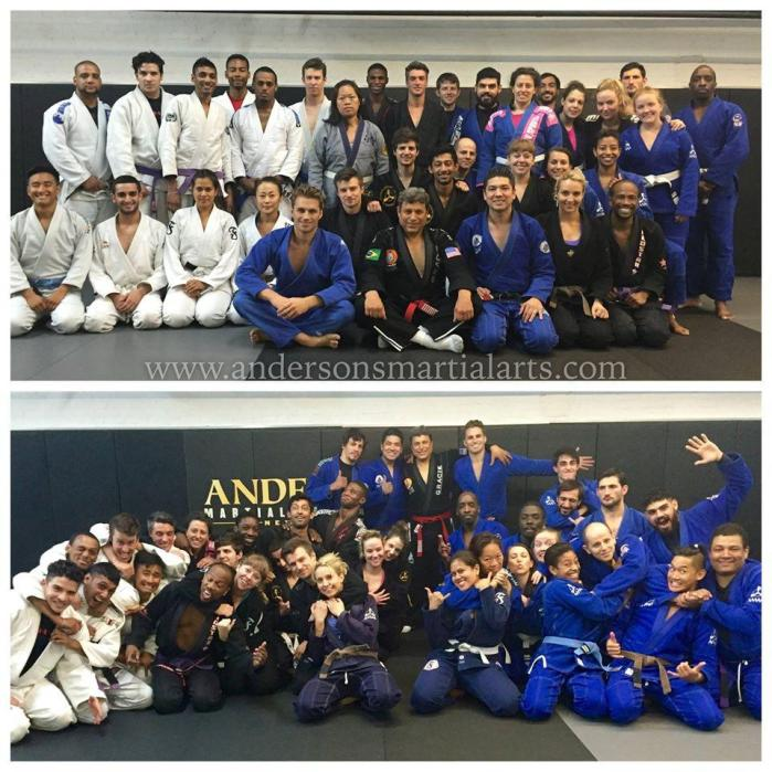 Brazilian JiuJitsu Seminar and Belt Promotions At Anderson's Martial Arts NYC