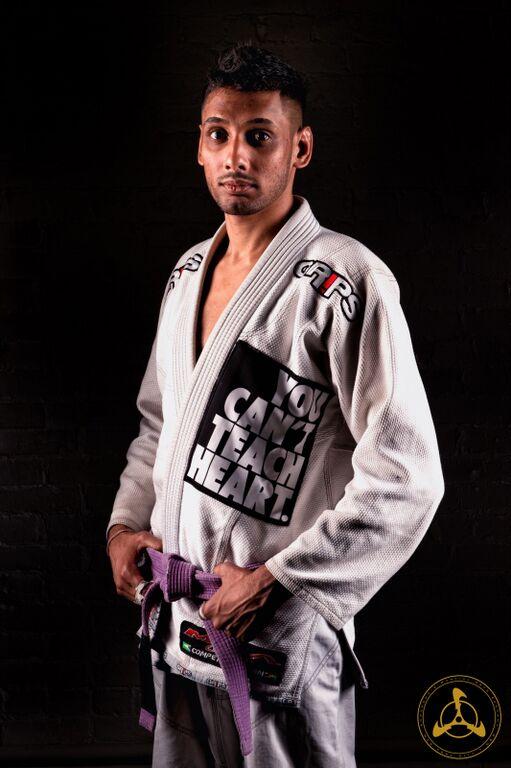 Martial Artist Profile: Vimal Bisundial - Anderson's Martial Arts Brazilian/Gracie Jiu Jitsu Competitor & Instructor