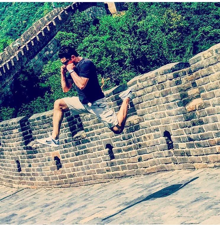 Sifu Anderson Takes martial Arts To China & Japan - Training Wing Chun, Brazilian JiuJitsu and more...