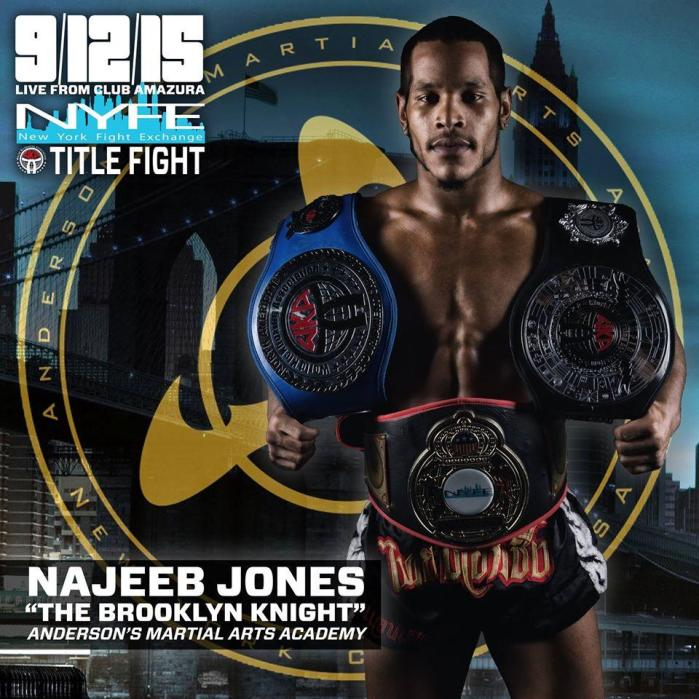 Anderson's Martial Arts Youngest Mixed Martial Arts (MMA) Champion Najeeb Jones Fights For the WKA NY State Title