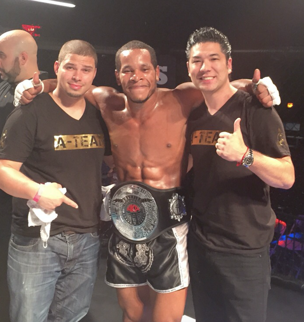Anderson's Martial Arts NYC own Najeeb Jones & Mike Kelly Win Their Mixed martial Arts Fights!