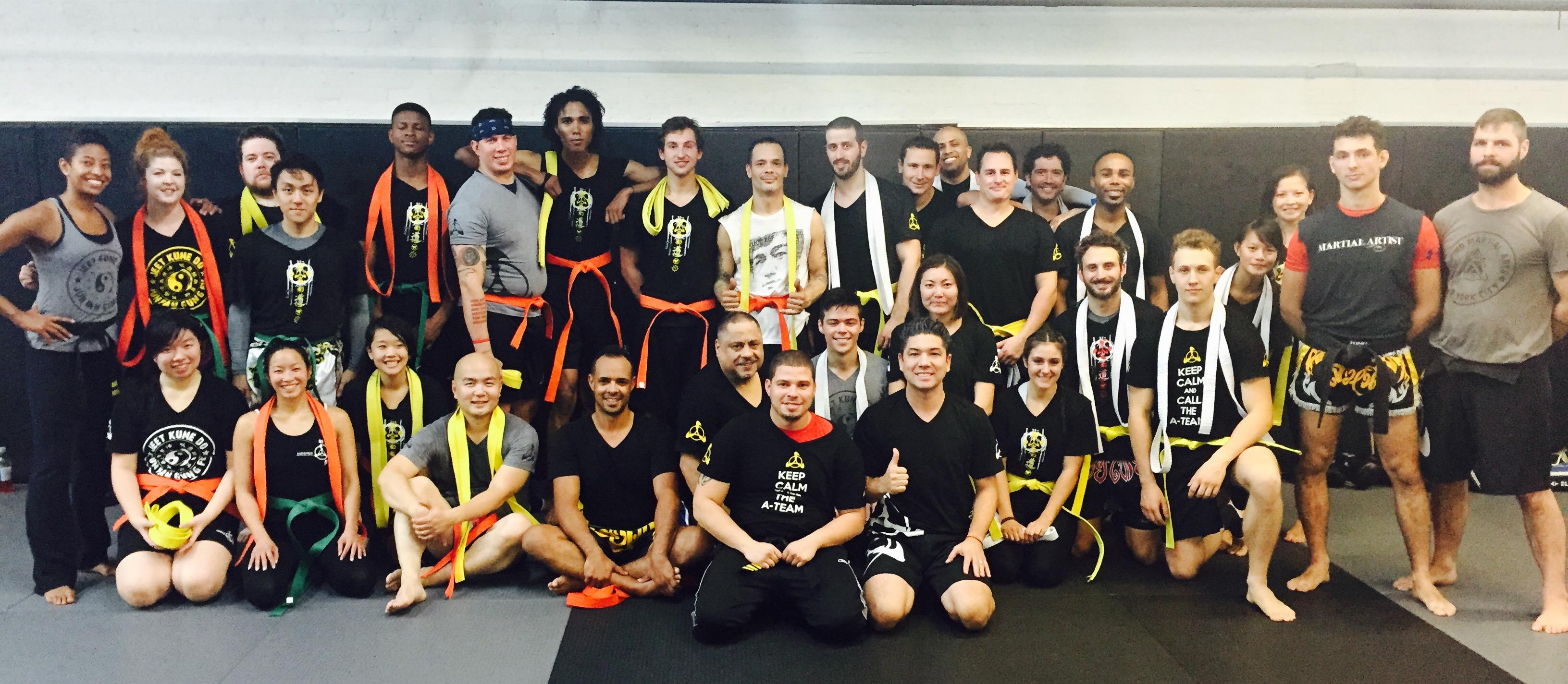 Jeet Kune Do & Filipino Martial Arts belt Testing AMAA NYC
