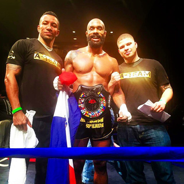 Andersons Martial Arts NYC Takes Home The WKA Muay Thai Belt! Best Kickboxing In NYC