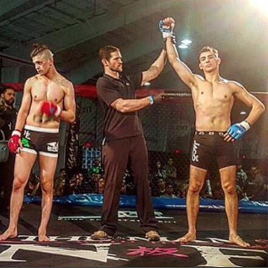 Jon Bianco Takes Home The Mixed Martial Arts Win (First Round Submission) At The New York City MMA Expo
