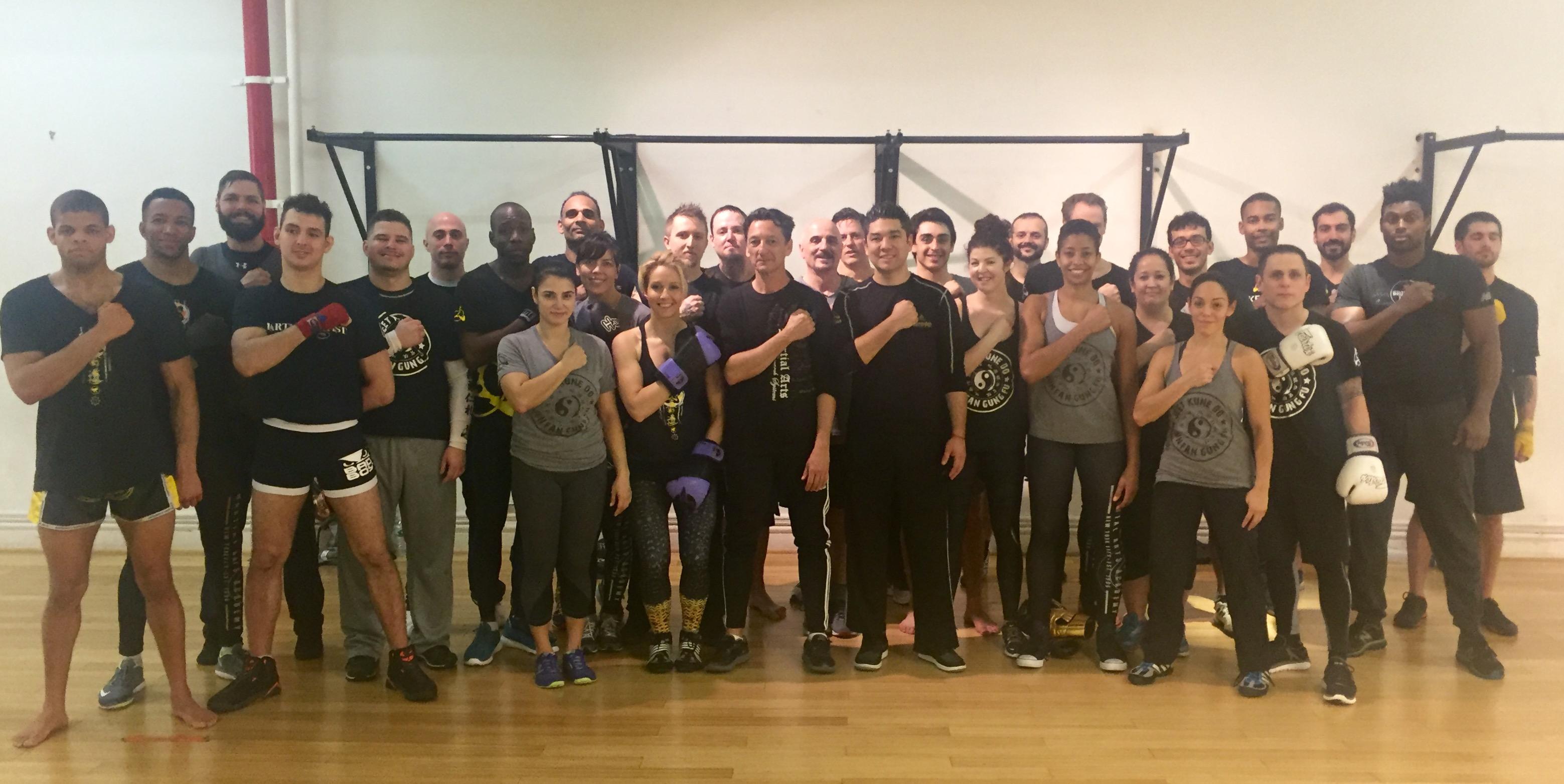 Andersons Martial Arts NYC Savate (French Kickboxing) Seminar Recap