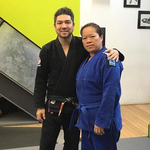 Student Spotlight: Karen Chan's Journey To Her Brazilian JiuJitsu Bluebelt at Anderson's Martial Arts NYC