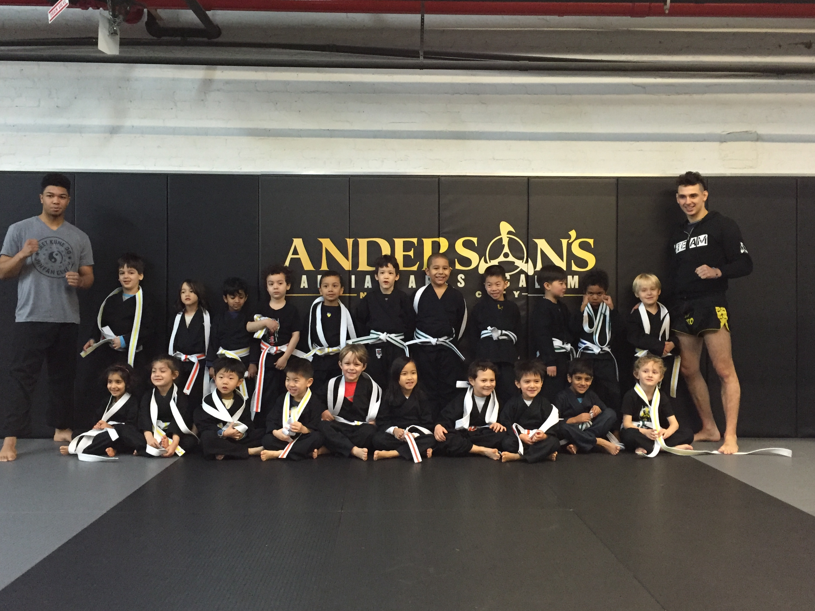 Andersons Martial Arts Kids Little Dragons Belt Promotions