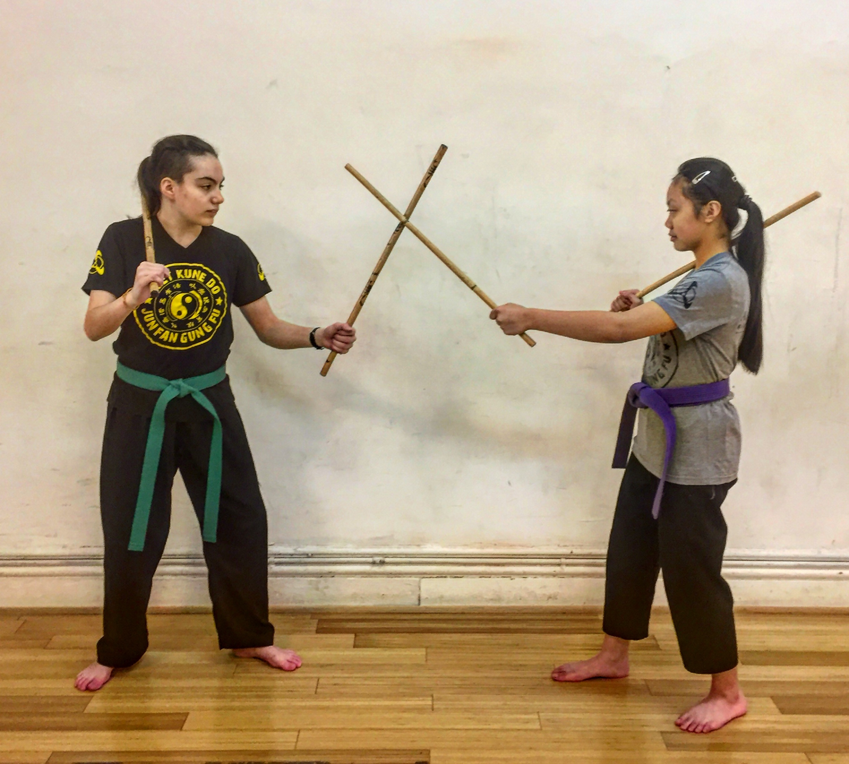 Two Of Our Junior Dragons Graduate To Adult Jeet Kune Do, Muay Thai and Brazilian JiuJitsu Class - Anderson's Martial Arts NYC