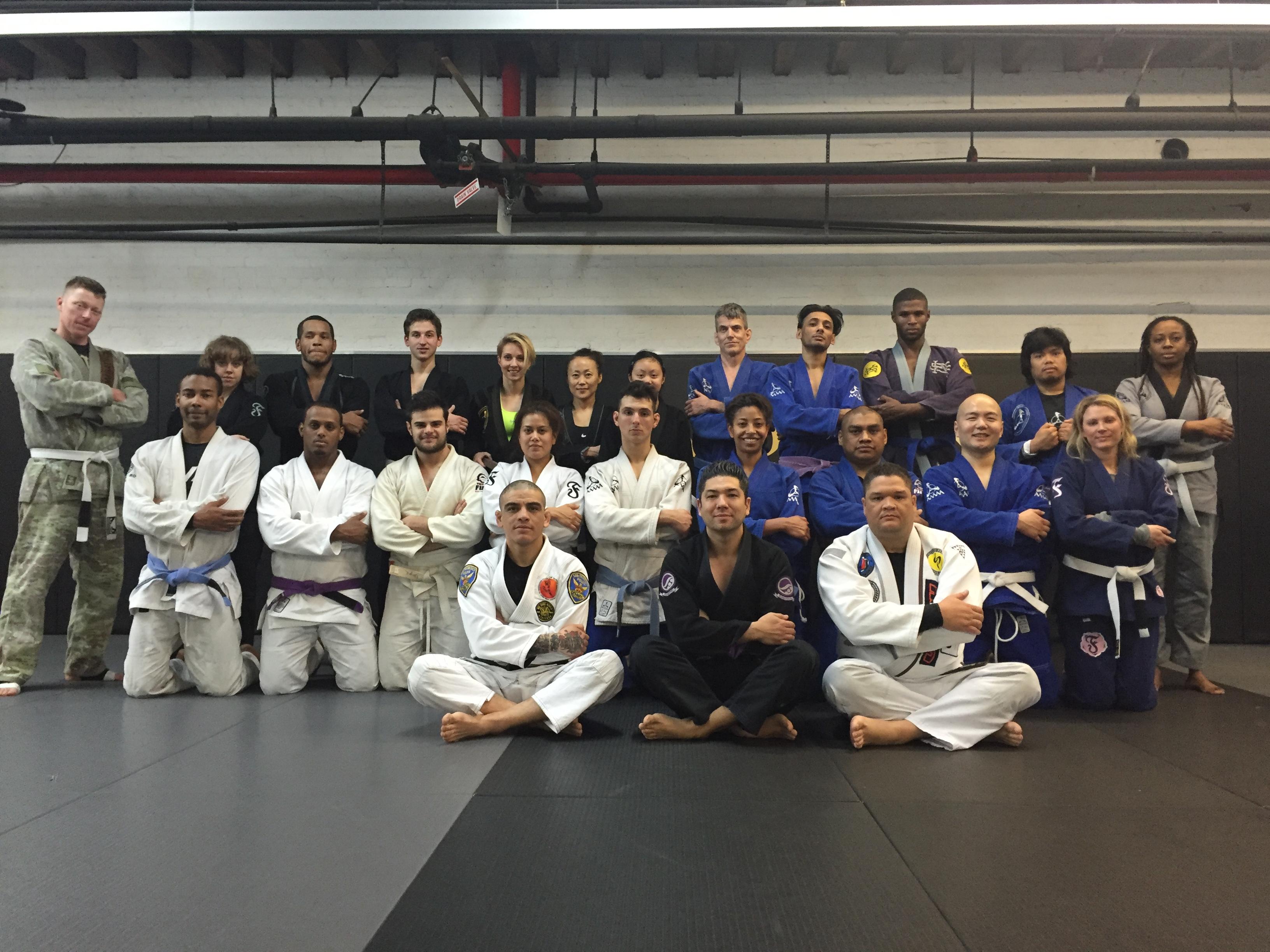World Champion and Good Friend Carlos Sapao Does A Brazilian JiuJitsu Seminar At Anderson's Martial Arts NYC