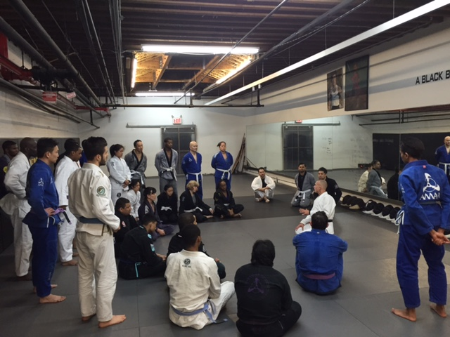 5th Degree Gracie/ Brazilian JiuJitsu Blackbelt Steve Maxwell Spends The Weekend Teaching At Anderson's Martial Arts NYC
