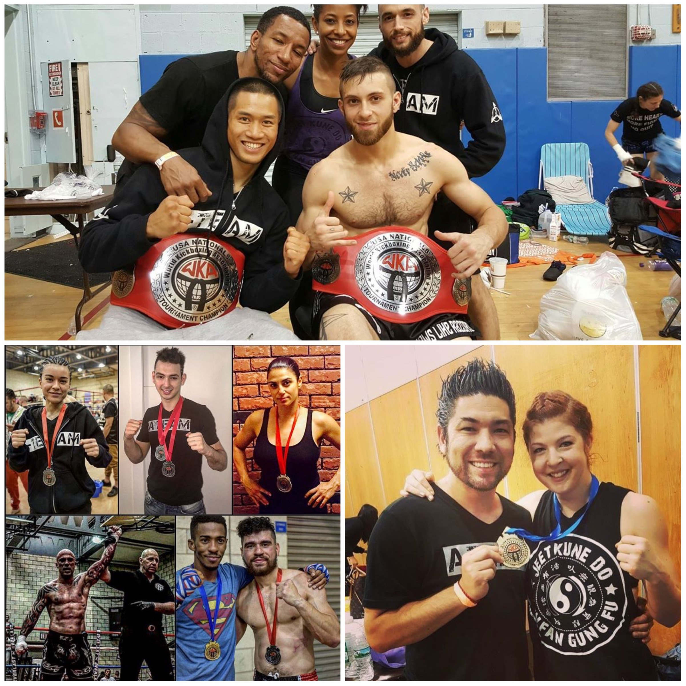 AMAA 2016 WKA USA Nationals Muay Thai, Kickboxing & Mixed Martial Arts Journey