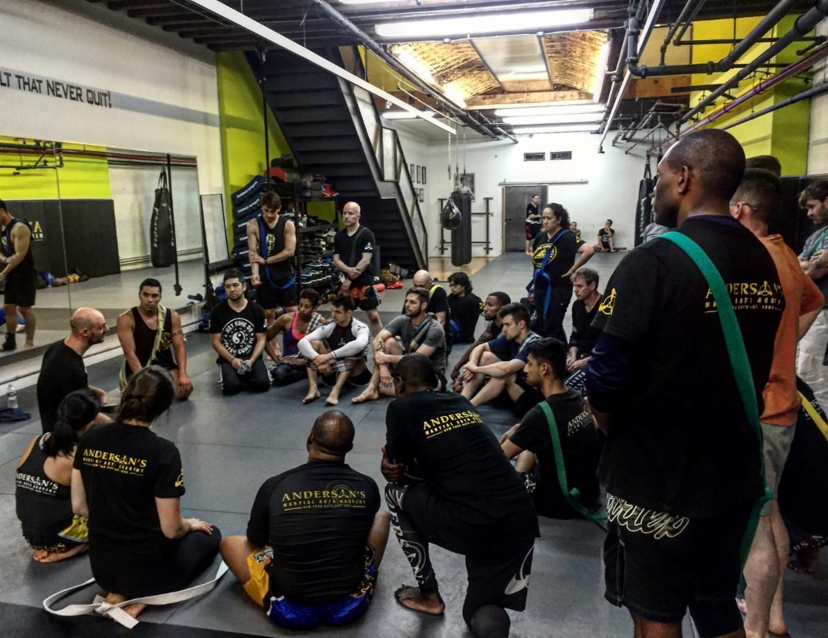 Amazing Silat, Sarong, Muay Thai Seminar at Andersons Martial Arts Academy