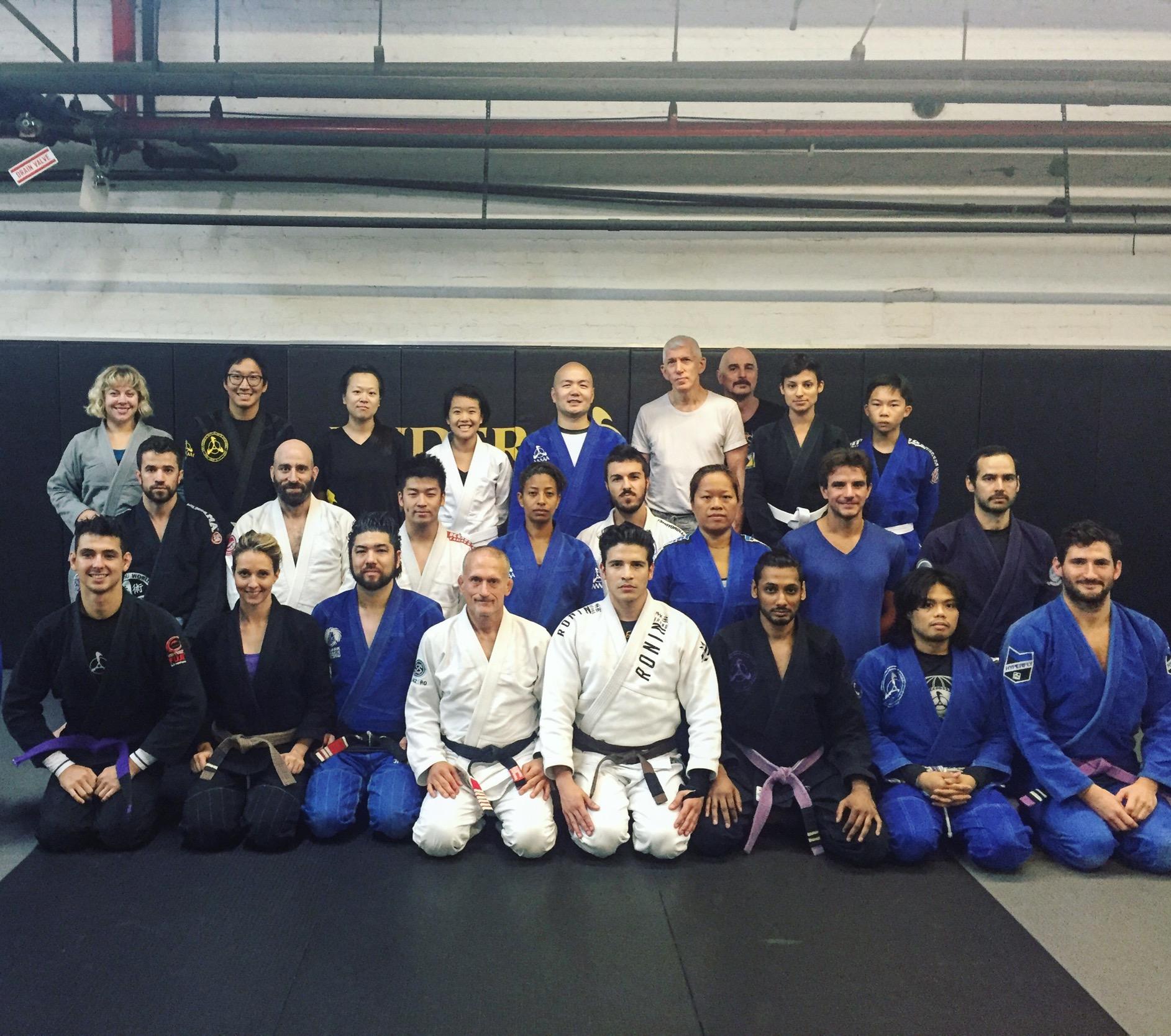 Steve Maxwell Teaches a Gracie JiuJitsu Workshop at Andersons Martial Arts NYC