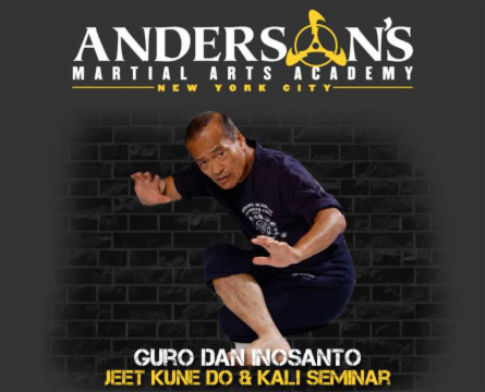 Guro Dan Inosanto, Jeet Kune Do and Filipino Martial Arts Seminar at Andersons martial Arts NYC