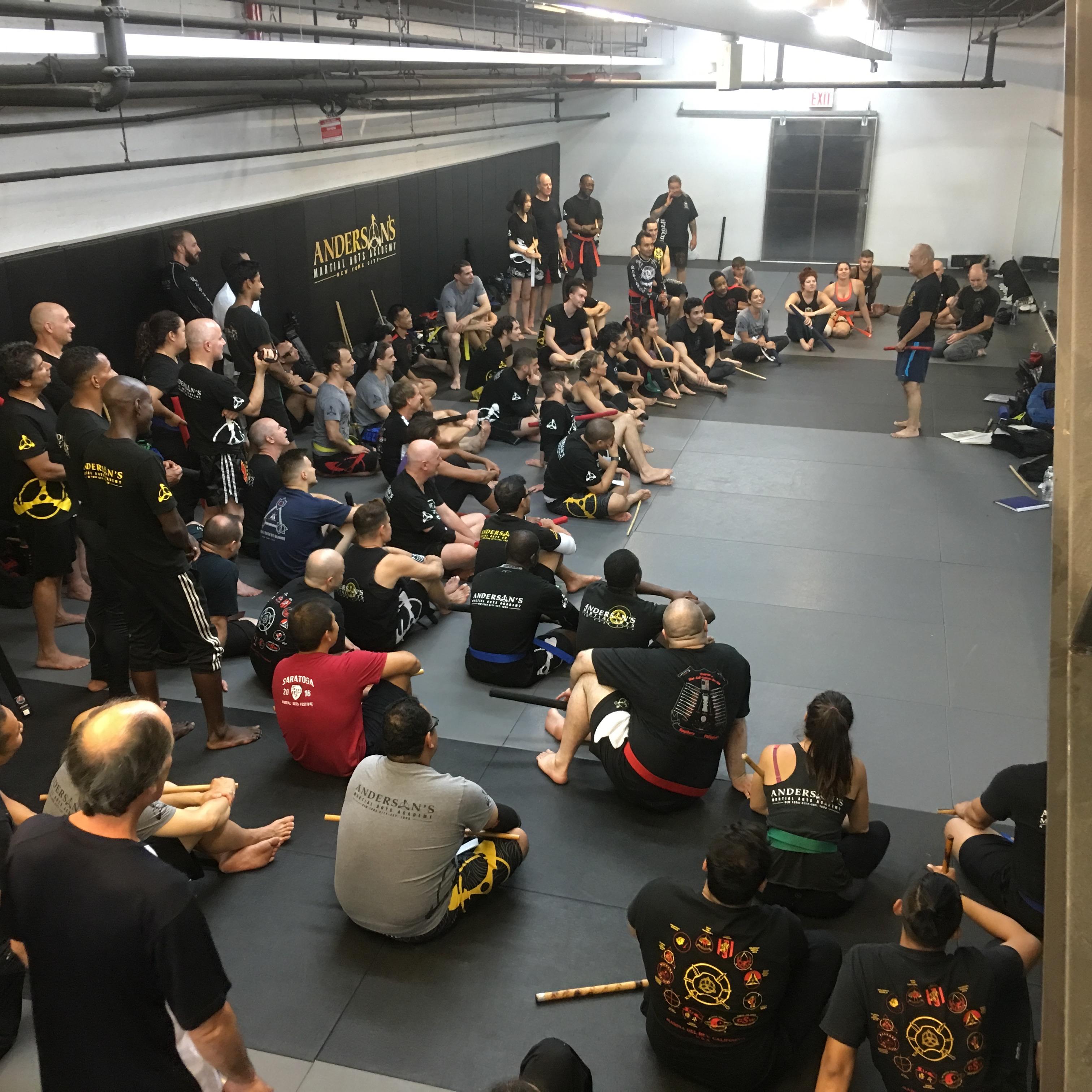 Guro Dan Inosnato Teaching Jeet Kune Do, Kali and Silat At Andersons Martial Arts Academy