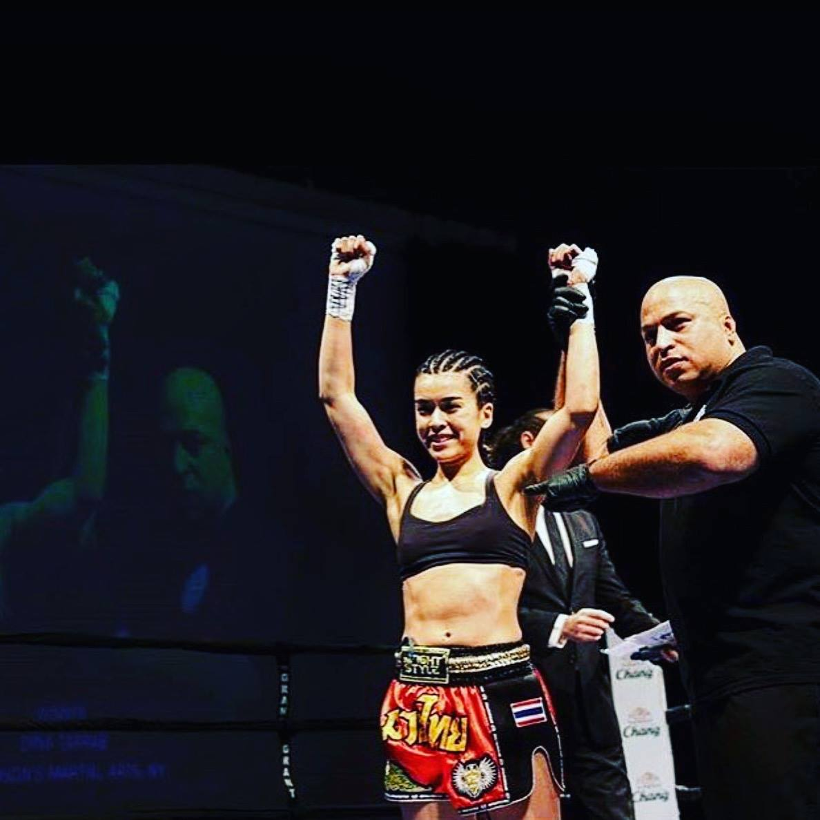 Dina Brings Home A Muay Thai Win For Anderson's Martial Arts Academy