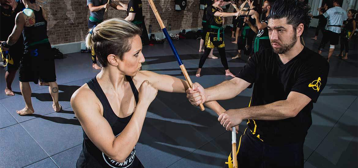 Kali Training in NYC; AMAA's Filipino Martial Arts Stick and Dagger Seminar at Andersons Martial Arts NYC
