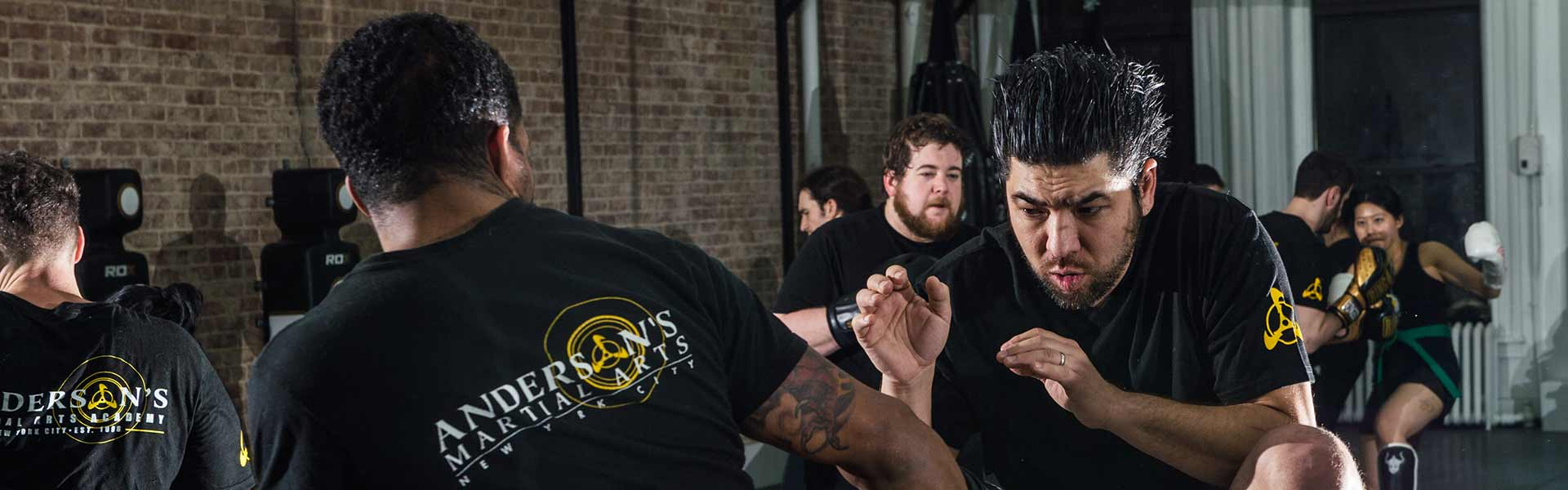 Silat Training at Andersons Martial Arts Academy New York City