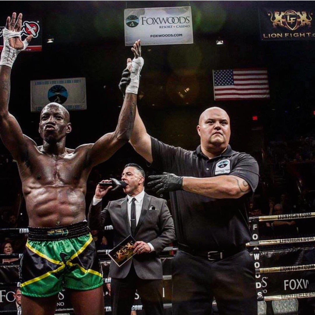 Shawn Ellis Wins His Muay Thai Lions Fight Debut! - Andersons Martial Arts New York City