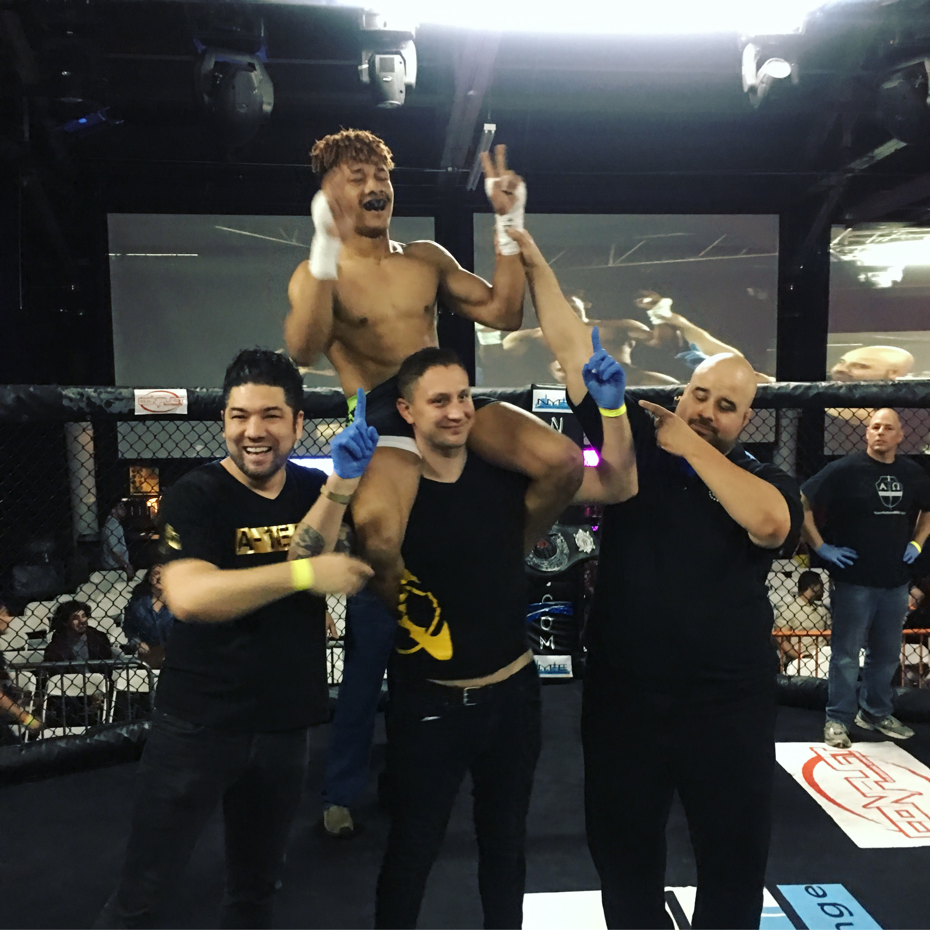 AMAA's Own Perez Figuera Wins His 4th Straight MMA Fight in a Heavier Weight Division