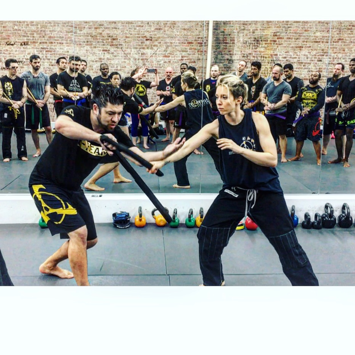 Combat Sweeps, Trips and Throws, Double Knife, Kali and JiuJitsu Andersons Martial Arts NYC Workshops