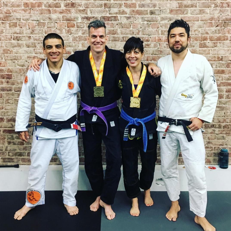 Brazilian JiuJitsu At Andersons Martial Arts NYC, Students Take GOLD & BRONZE at IBJJF