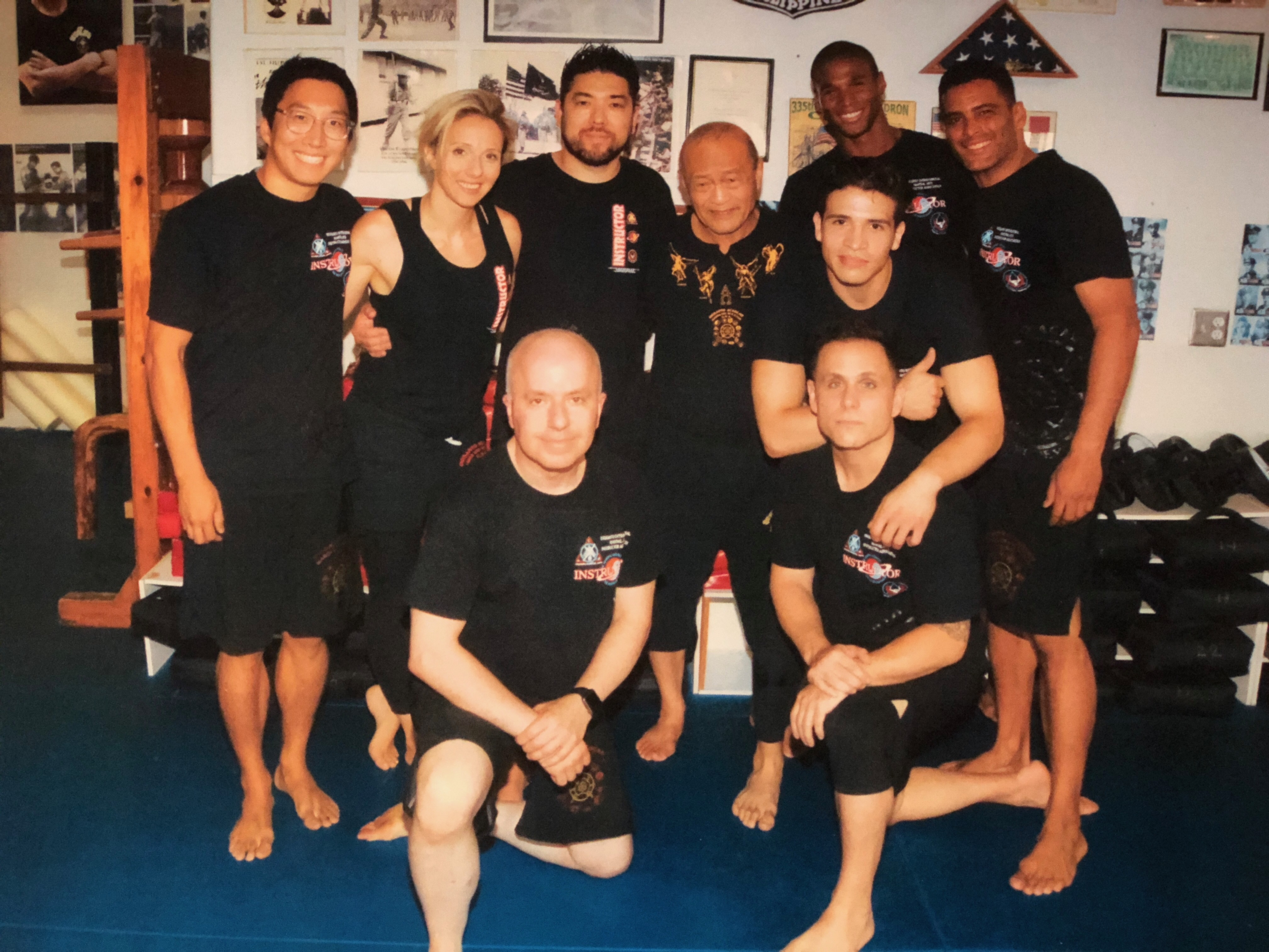 6 Andersons Martial Arts Instructors Are Newly Certified by Guro Dan Inosanto - Jeet Kune Do and Kali - Carrying on the Bruce Lee & Inosanto Lineage