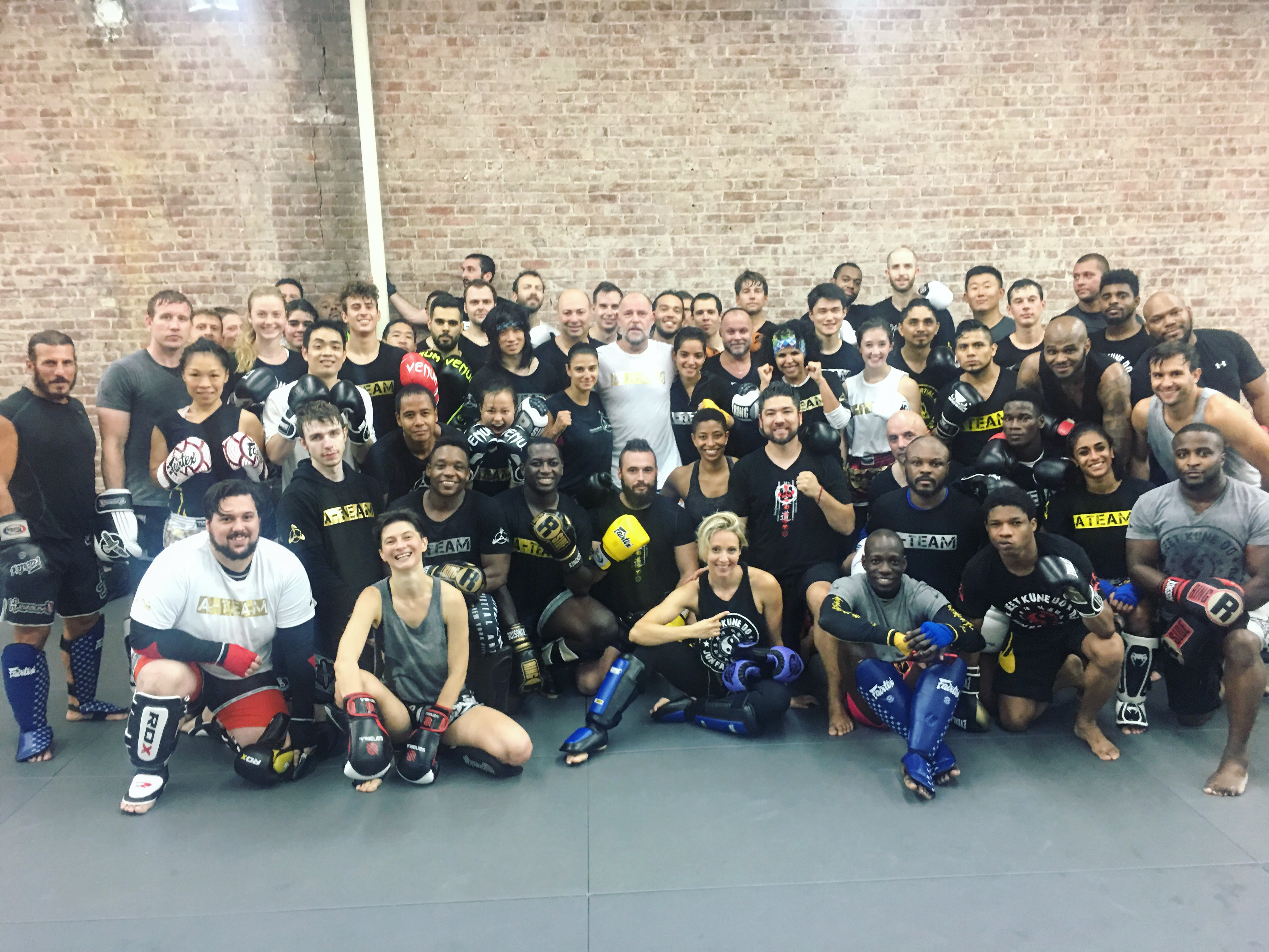 "9x Kickboxing, Muay Thai World Champion Rob ""The Dutchman"" Kaman Spends A Week Teaching At AMAA"
