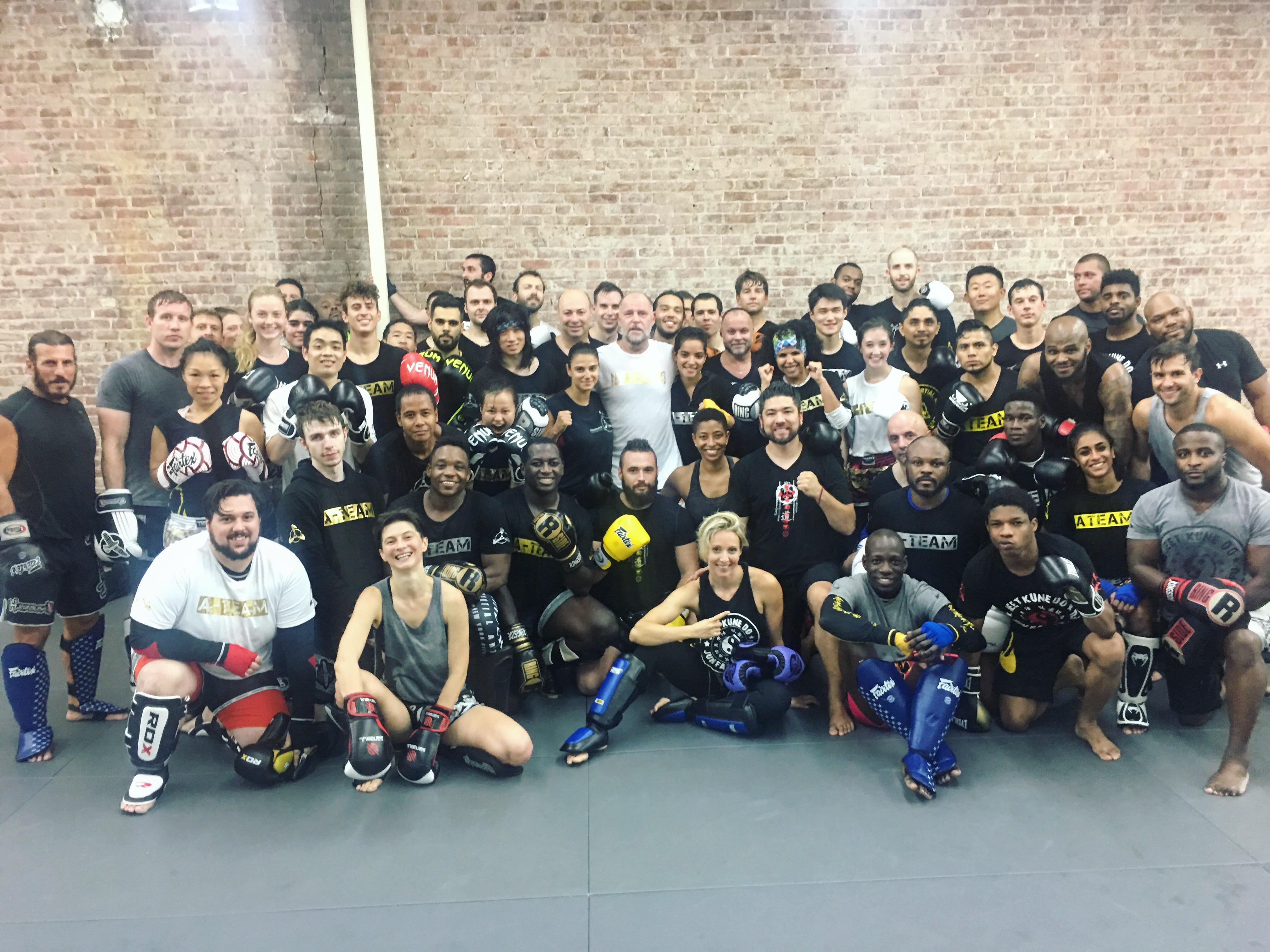 "9x Kickboxing, Muay Thai World Champion Rob ""The Dutchman"" Kaman Spends A Week Teaching At AMAA"