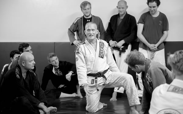 Steve Maxwell's Gracie JiuJitsu For A Lifetime Camp at Andersons Martial Arts Academy