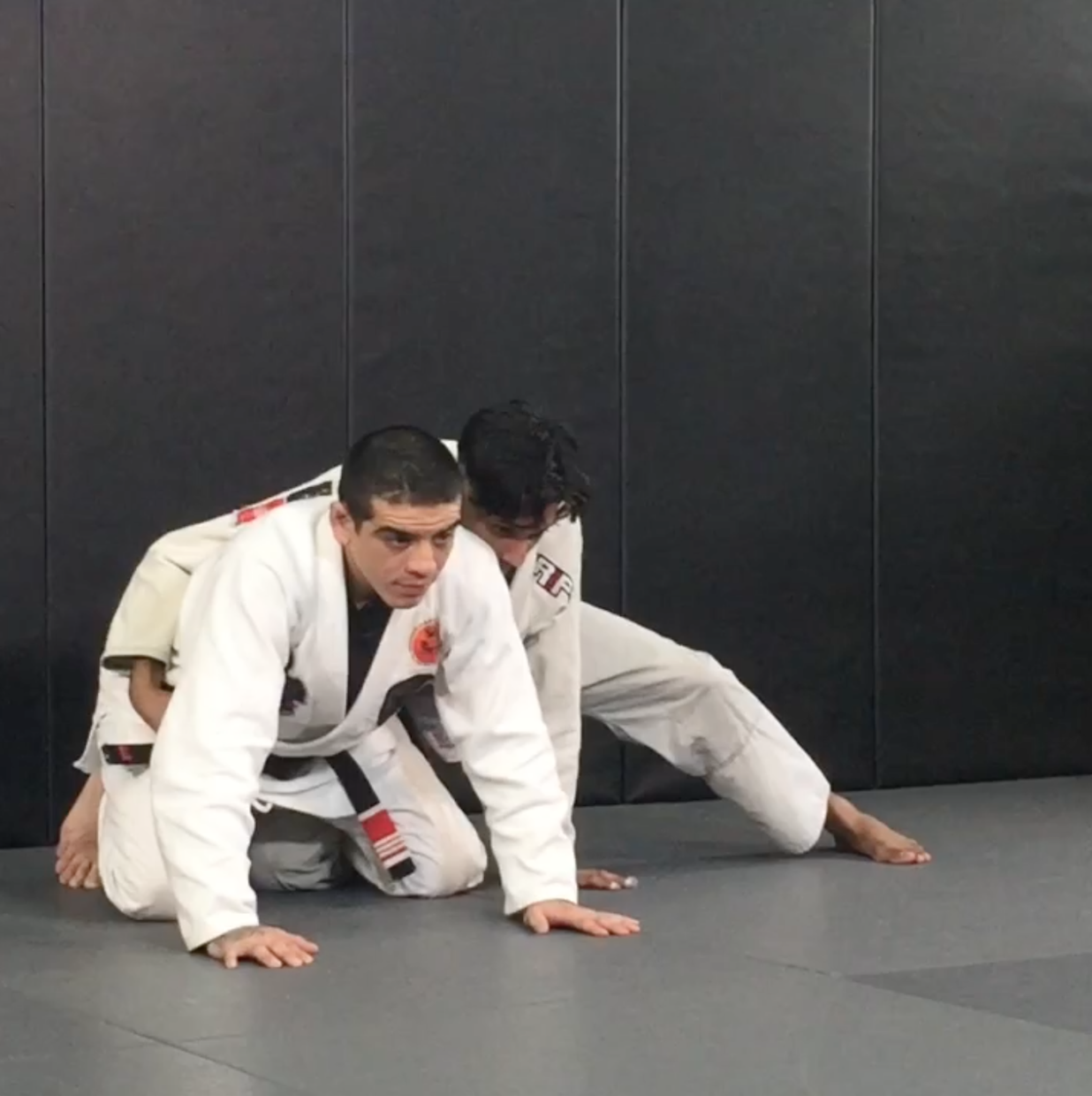 Carlos Sapão is guest teaching Brazilian JiuJitsu at Andersons Martial Arts Academy